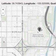 MapQuest Latitude Longitude Finder Tool